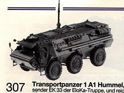 TPz 1 Fuchs 'Eloka'. Roco / Herpa Minitanks 307 HO 1/87 Scale