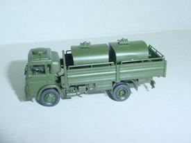 Magirus Flatbed Truck w/Tank load. Minitanks #420