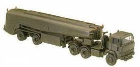 Magirus Semi 320D w/40' Tank Trailer. Minitanks  436 Plastic 1/87 Scale Kit