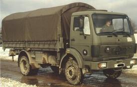 Daimler-Benz 1017A Supply Truck. Minitanks #510