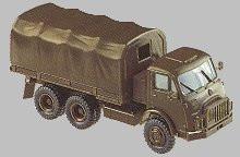 Steyr 680 M3 6x6 Flatbed Truck w/Cover. Minitanks #551