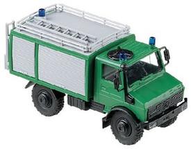 Federal German Border Police Unimog U 2450 Airfield Fire Engine #694