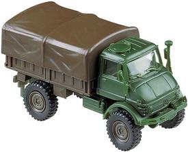 Unimog U416 Truck. Herpa Roco Minitanks 697 Plastic 1/87 Scale Unfinished Kit