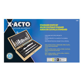 X-Acto Standard Knife and Blade Set 17 pcs. Boxed, X5083