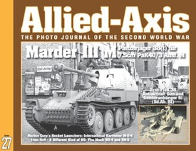 Allied-Axis AA-27, Marder III M and more. Ampersand Pub.