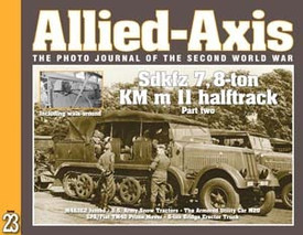 Allied-Axis AA-23, SdKfz7, M4A3E2, M20 & More Ampersand Pub.