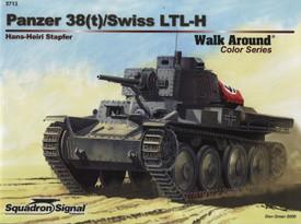 Panzer 38(t)/Swiss LTL-H. Squadron Signal 5713
