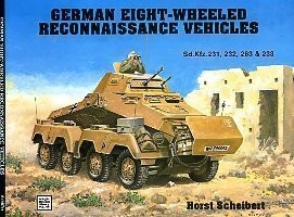 German Eight Wheeled Recon Vehicles, Schiffer Military 4766