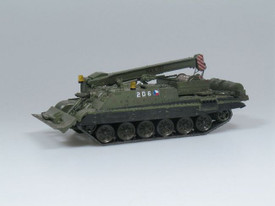 VT-72B Czech Armored Recovery Vehicle. SDV 87092 Unfinished Plastic Kit 1/87 Sca