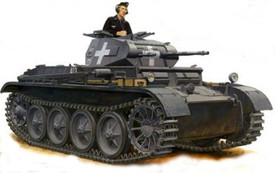 Panzer II D/E, Light Tank. Arsenal-M 112101211 New 1/87 Scale Resin Kit Unassembled
