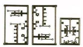 Steering Accessory Set for Styer 380 Trucks. Minitanks 345 New 1/87 Scale Plasti