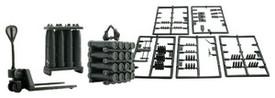 155mm Artillery/Munitions Accessories Set. Roco Minitanks 550 Herpa 742009