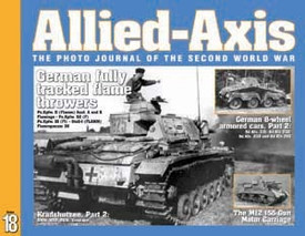 Allied-Axis AA18 M12 SP Gun, German Tracked Flame Throwers & More Ampersand