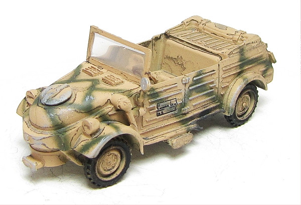 VW Kubelwagen with Woodgas Generator WSW 872215 Finished