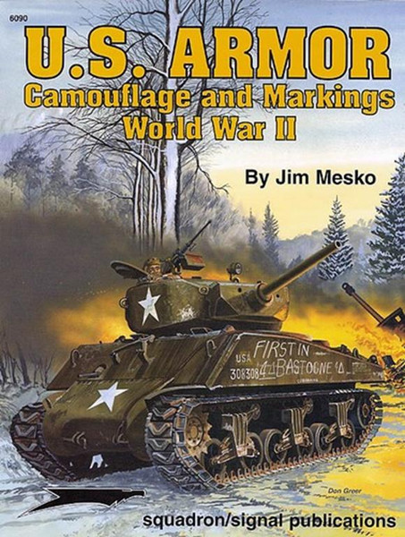 US Armor Camouflage and Markings Squadron 6090 New