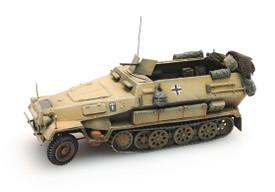 Sd.Kfz.251/1 Ausf.B Half Track Afrika Korps. Artitec 387.73-YW Painted, Finished R