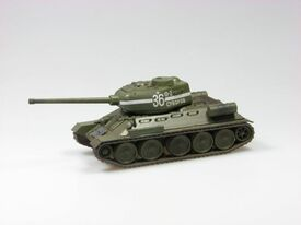T-34/85 finished, painted