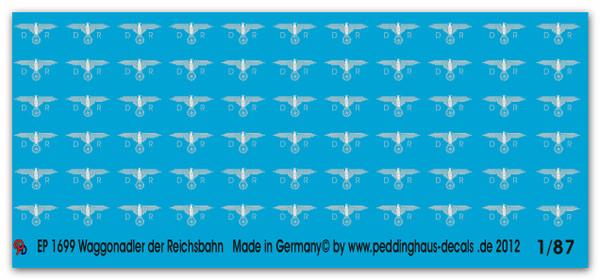 1699 Reichsbahn silver eagles