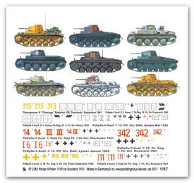 2384 panzer II tanks