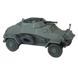 Light Armored Car Sd.Kfz. 222 AlsaCast 8775.139 New 1/87 Resin Kit Unassembled