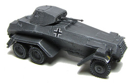 SdKfz231 6-Rad Armored Car. WSW 872213 Unfinished Resin Kit 1/87 Scale
