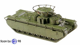 Russian T-35 Command Tank Minitanks 1201 New 1/87 Scale Unfinished Kit