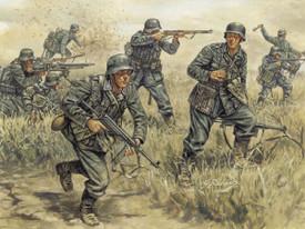 German Infantry Figures WWII Italeri 6033 New 1/72 Scale Plastic