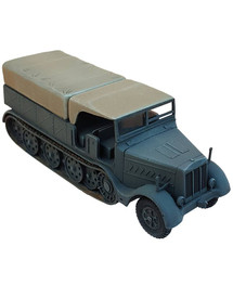 Sd.Kfz.9 Heavy Half Track AlsaCast 8775.162 New 1/87 Resin Kit Unfinished
