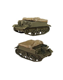Bren Carrier with Tarp AlsaCast 8775.183 New Resin Kit 1/87 Scale