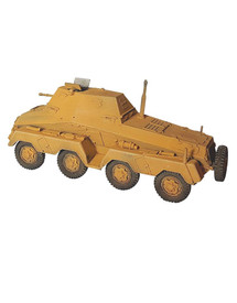 Sd.Kfz. 263, 8-Rad Armored Car AlsaCast 8775.145 New 1/87 Resin Kit Unfinished