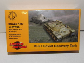 IS-2T Russian Recovery Tank Z+Z Modell 87096 New 1/87 Scale Plastic Kit