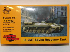 IS-2MT Russian Recovery Tank Z+Z Modell 87102 New 1/87 Scale Plastic Kit