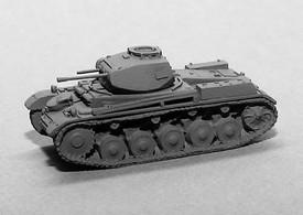 Panzer II Sd.Kfz.121 Ausf F Light Tank Trident 90334G New 1/87 Plastic Kit