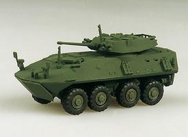 U.S. LAV-25 Light Armored Vehicle Amphibious Recon Trident 90010 New 1/87 Plasti