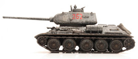 Russian T-34/85 Winter Camouflage Artitec 6870024 New 1/87 Finished Model