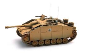 German Stug III Ausf G 1943 Assault Gun Artitec 387.49-YW New 1/87 Finished Kit