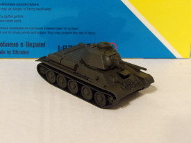 Russian T-34/76, 1943 Version AMA 600053 (629) New 1/87 Scale Finished kit