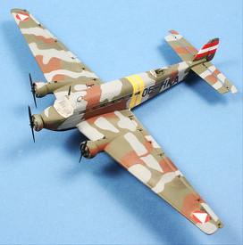 Junkers JU-52/3 Austrian Air Force 1938. Arsenal-M 225700011 New 1/87 Scale Kit