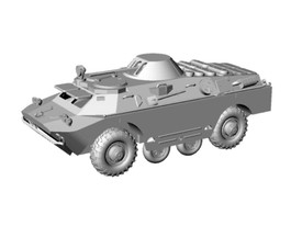 BRDM-2 Russian Scout Tank Amphibious Arsenal-M 223200011 New 1/87 Unfinished Kit