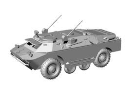 BRDM-2U Russian Command Tank Amphibious Arsenal-M 223200021 New 1/87 Unfinished