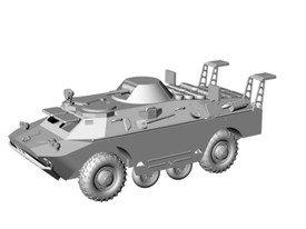 BRDM-2 Rch ABC Recon Vehicle Arsenal-M 223200031 New 1/87 Unfinished Kit