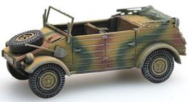 Kubelwagen VW82 Artitec 387.77-CM Finished Model 1/87 Scale Camouflage