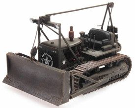 U.S. Army Bulldozer D7 Artitec 387.338 New 1/87 Scale Resin Finished Model