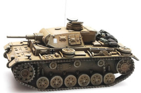 Panzer III Ausf.G Afrika Korps Artitec 387.306 New 1/87 Scale Finished Resin Mo