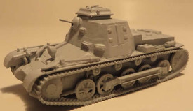 Sd.Kfz.265, Panzer I Command Vehicle Trident 87115 New 1/87 Scale Resin Kit Unfi