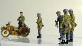 German Paratroops Command Trident 96504 New 1/87 Scale Resin Kit Unfinished