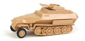 Sd.Kfz.251/21 Ausf.C Half Track AA Turret Trident 90392 New 1/87 Scale Kit