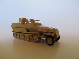 Sd.Kfz.251/16 Ausf.C Flamethrower Half Track Trident 90393 New 1/87 Scale Kit Un