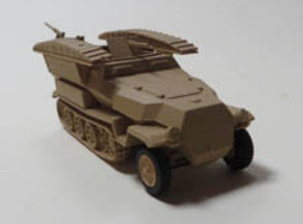 Sd.Kfz.251/7 Ausf.C Engineer Half Track Trident 90397 New 1/87 Scale Plastic Kit