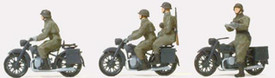 German BMW R12's And Figures New 1/87 Scale Plastic Kit Unfinished